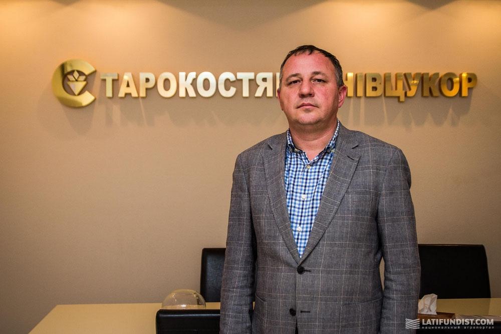Александр Спивак, директор предприятия «Староконстантиновсахар»